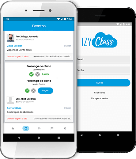 IZY Class App